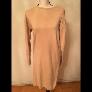 Dresses & Skirts - New dress knit size L beige